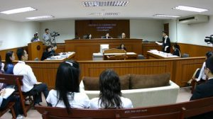 """The Chiang Rai court deems it inappropriate to render a judgment,"""" it said, placing the boy on a """"restorative justice plan"""" under which he must report every three months to a juvenile court - File Photo"""