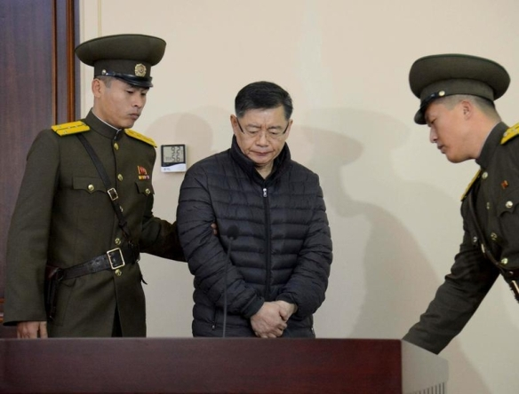 Canadian Officials Meet Detained Pastor in North Korea