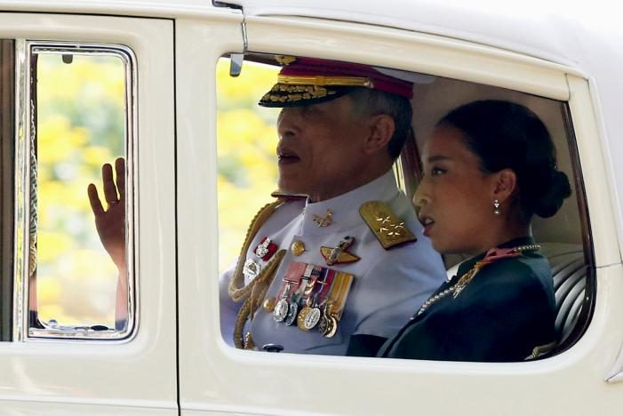 Thailand's New King Rama X Makes First Public Appearance