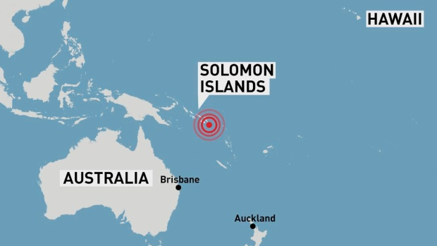 Tsunami Warnings Called Off after 7.8-magnitude Earthquake Strikes Solomon Islands