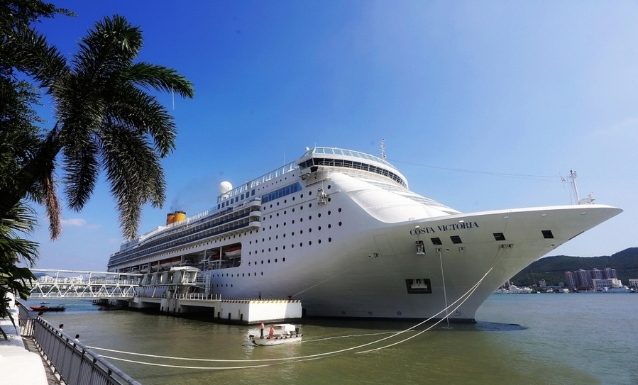 Cruise Ship Costa Victoria Launching Cruises From Laem Chabang - Cruise ship in thailand