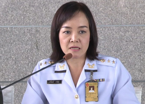 National Council for Peace and Order (NCPO) Deputy Spokesperson Col Sirichan Ngathong
