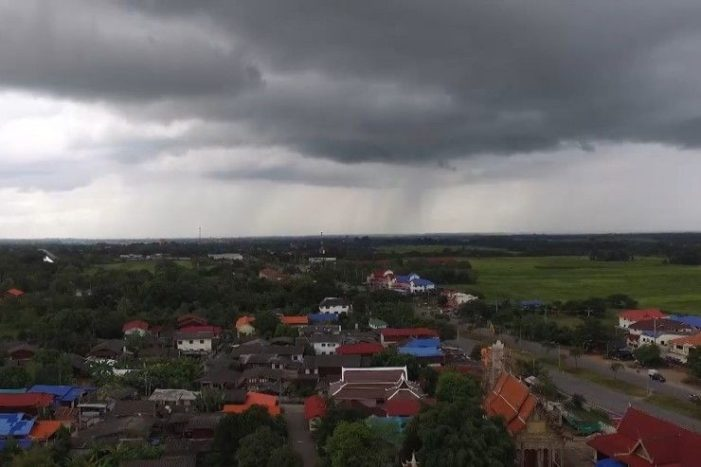 Heavy Rain and Thundershowers Predicted for Chiang Rai as New Years Holidaymakers Return Home