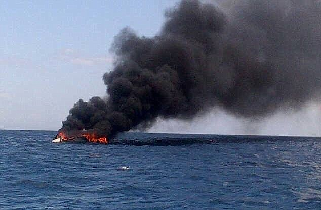 18 Tourists Rescued in Southern Thailand after Dive Boat Catches Fire and Sinks