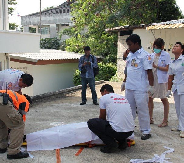 Unidentified Foreigner Falls to His Death from Pattaya 30 Storey Condo in Pattaya
