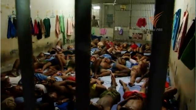 70 Percent of Thailand's Packed Prisons are Prisoners Serving Time for Drug-Related Offenses