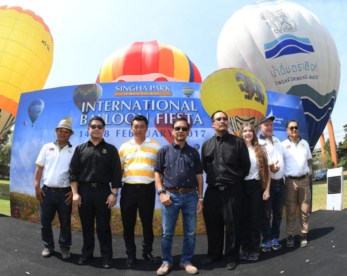 32 Balloons from 14 Nations to Feature at Chiang Rai's International Balloon Fiesta at Sigha Park