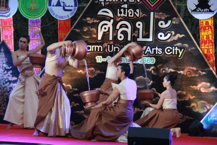 Tourism Authority of Thailand Sponsors 'Warm Up The City of Arts' in Chiang Rai