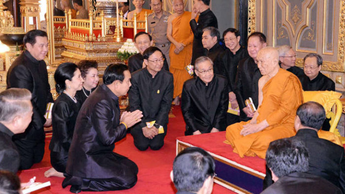 Thailand's Prime Minister Say's Thai Buddhists Should be Ashamed of their Sins