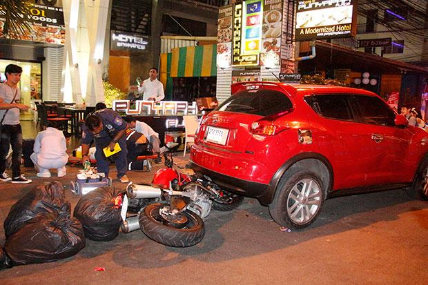25 Year-Old Russian Man Killed by Racing Motorcycle in Pattaya