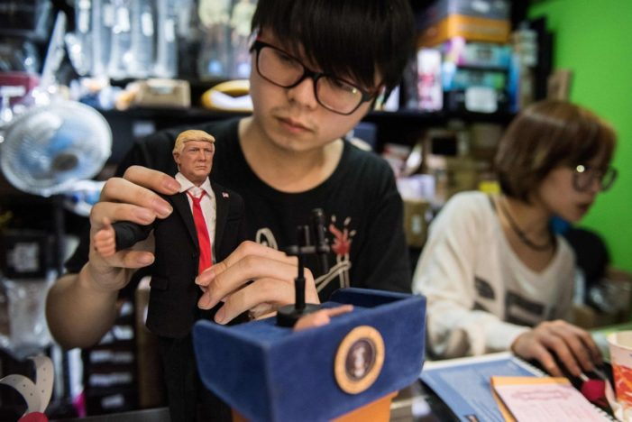 Look Out Barbie and Move Over Ken Hong Kong Doll Maker Launches Trump Doll