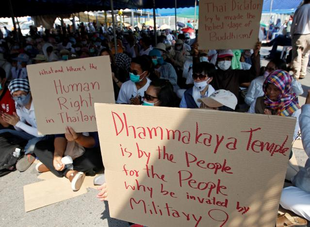 Worshipers of Thailand's Dhammakaya Temple Defy Article 44 Order to Vacate Temple