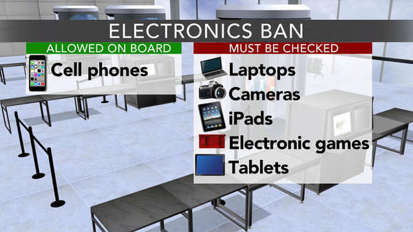 US, Britan Ban Electronics Use on Flights from Middle East and North Africa