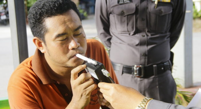 Drunk Drivers in Thailand Now Face Insurance Ban