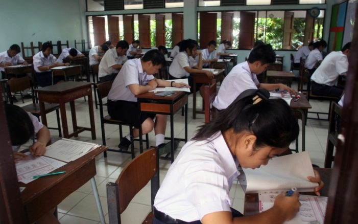 Thailand's Mathayom 6 (Grade 12) Students Fail Four out Five Subjects in National Test