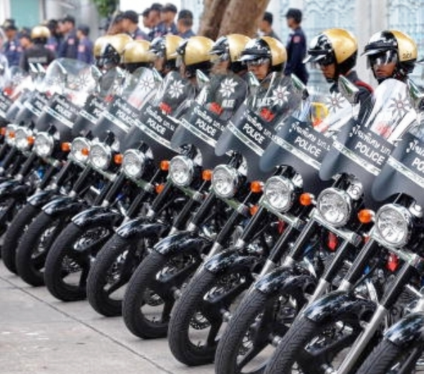 13 Thai Police Officers Accused of Corruption in Procurement of 19,000 Motorcycles
