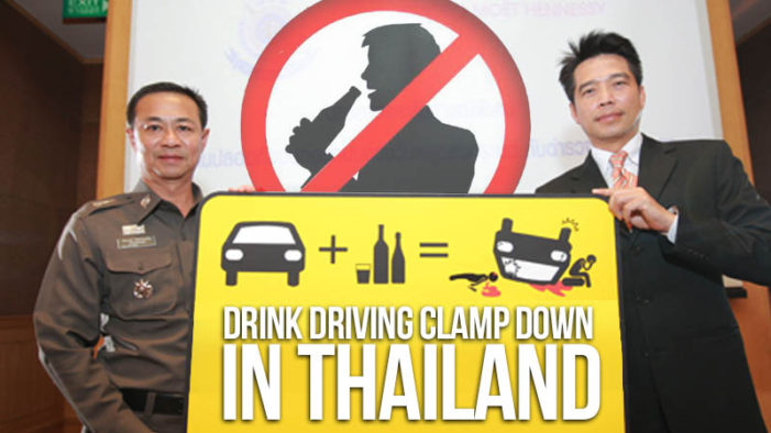 Don't Drive Drunk Foundation Calls for Year Round Drunk Driving Campaigns in Thailand
