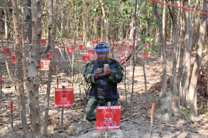 Thousands of Landmines from Past Conflicts still Haunt Thai Villagers
