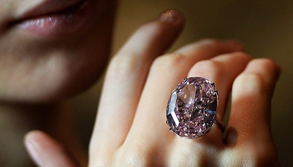 Sotheby's London to Auction Off 59.60-Carat Flawless Fancy Pink Diamond