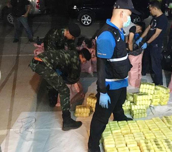 One Million Methamphetamine Pills Seized from Truck Traveling from Chiang Rai