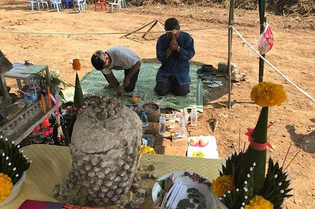 Ancient Artifacts Unearthed by City Workers in Chiang Rai