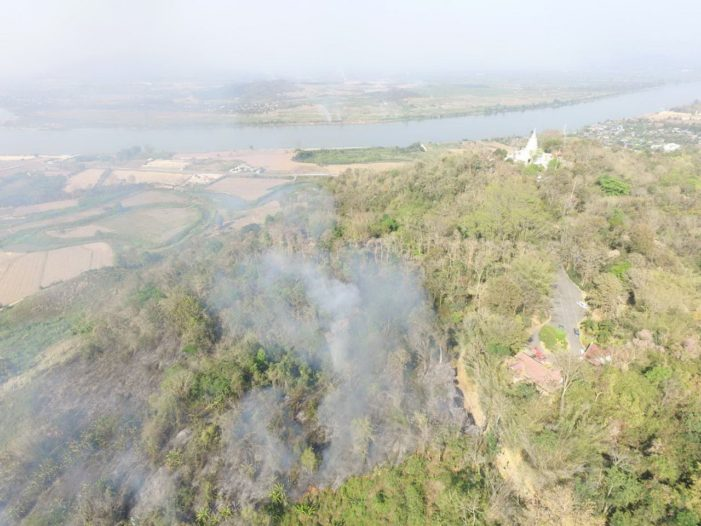 Chiang Rai's Governor Say's Burning Control Campaign has Greatly Reduced Wildfire Hot-Spots