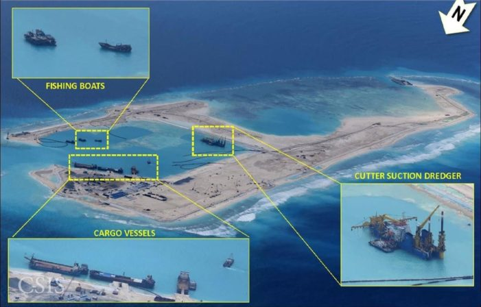 China Begins New Construction on Paracel Islands