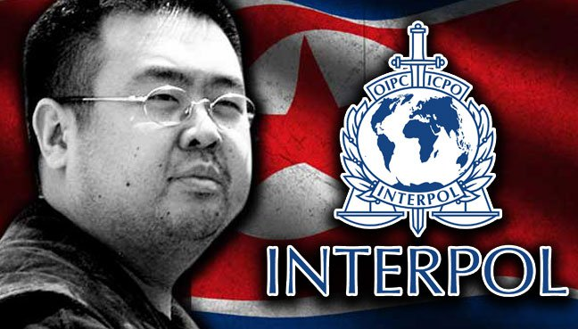 """Interpol Issues """"Red Notice"""" for North Koreans Wanted for Kim Jong Nam's Murder"""