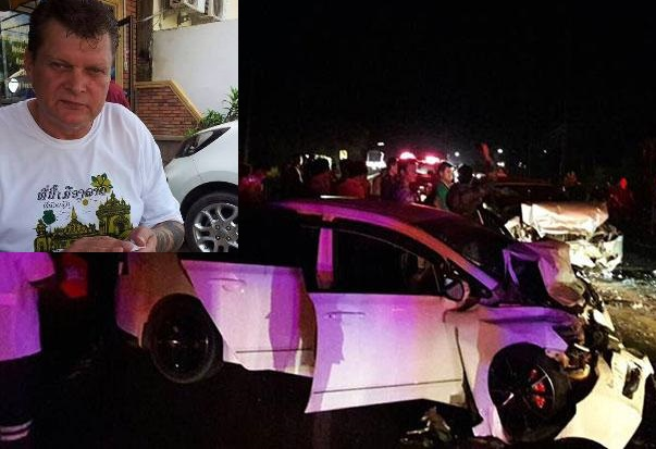 61 year-old Dutch National Michael Eriksen Killed in Head on Collision in Udon Thani