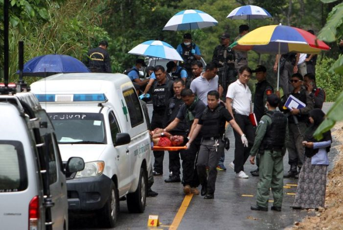 Thai Soldiers Gun Down in Front of Terrified Shoppers in Pattani Province