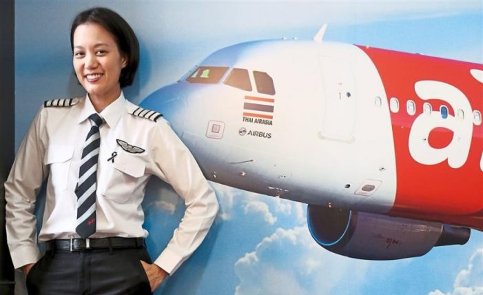 From Miss Thailand Universe to AirAsia Pilot, Meet Captain Chananporn Rosja