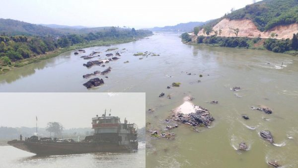 Two Month Survey Commences on Mekong River Channel Prior to Blasting