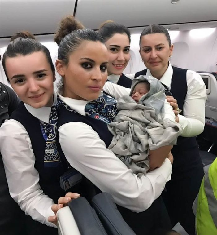 Turkish Airlines Crew Helps Deliver Baby Girl At 42,000 Feet
