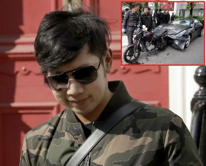 "Arrest Warrant Issued for Red Bull Heir Vorayuth ""Boss"" Yoovidhya"