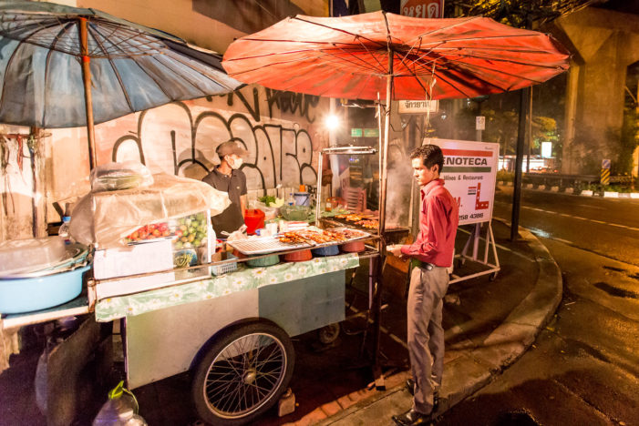 City of Bangkok to Ban Street Food Vendors from all Main Roads