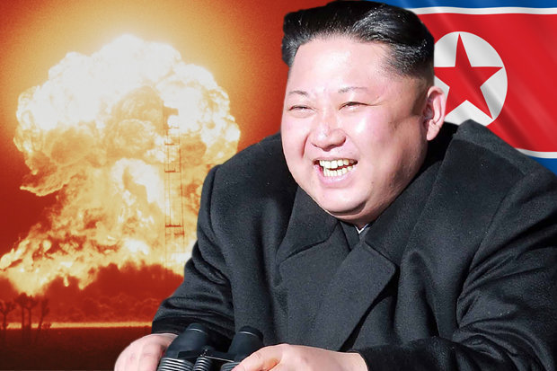 North Korea Airs Mock Video of Nuclear Missiles Blowing up United States