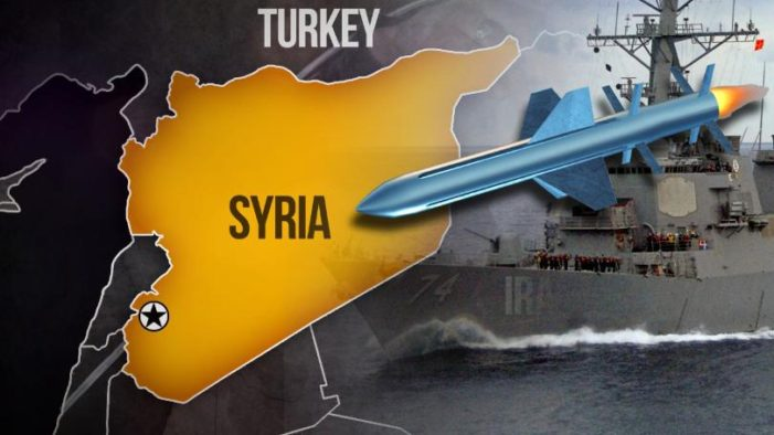 U.S. Launches Cruise Missile Attack on Syrian Airbase