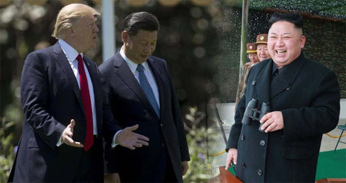 Trump Attempts 'Deal' with China on Shutting Down North Korea