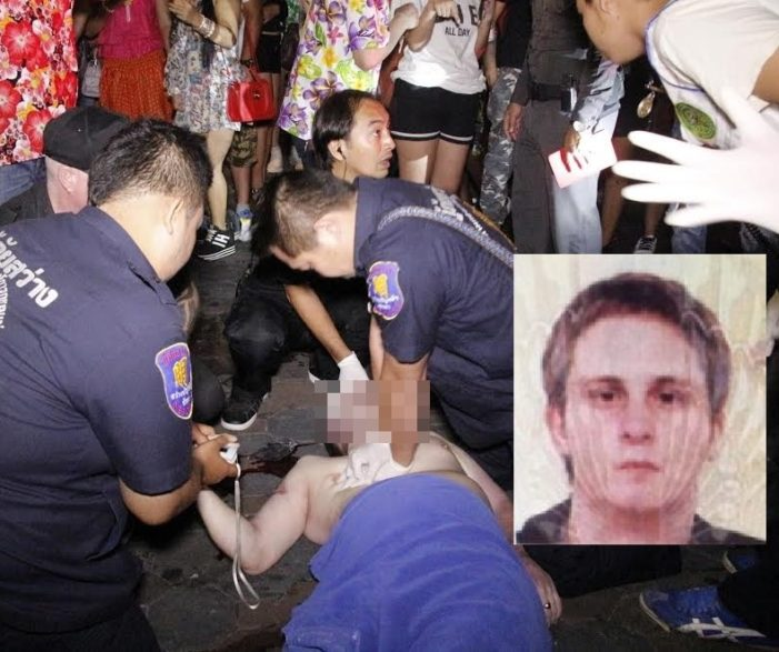 Naked British Tourists Falls to His Death in Pattaya, Thailand