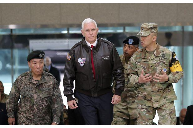 US Vice President Mike Pence Warns North Korea Saying the Era of Strategic Patience is Over