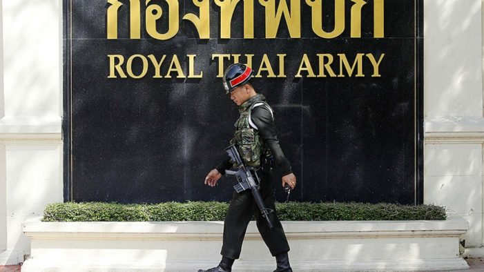 Thai Junta to Lift Ban on Political Party Gatherings