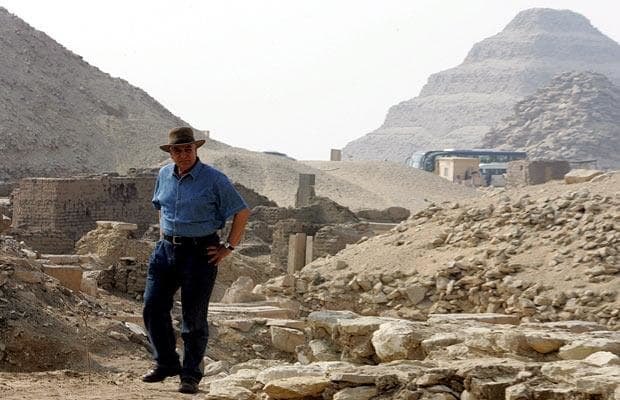 Top Antiquities Officials Say New Pyramid Discovered in Egypt