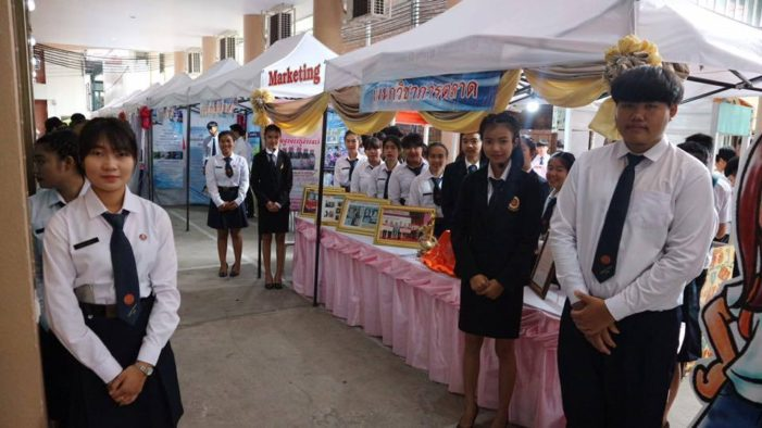 Chiang Rai Vocational College Organizes Open House