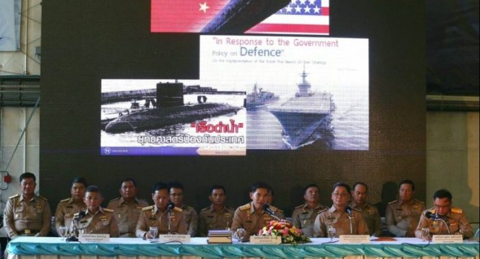 Thai Navy on the Defencive Over Submarine Purchase