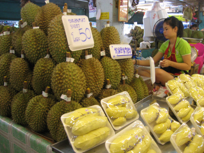 Health Department Warns Over Health Problems from Eating too Much Durian