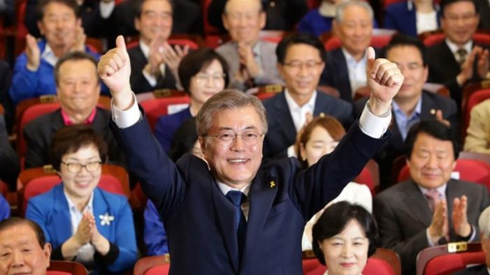 South Korea's Newly Elected President Willing to Visit North, Talk to US, China