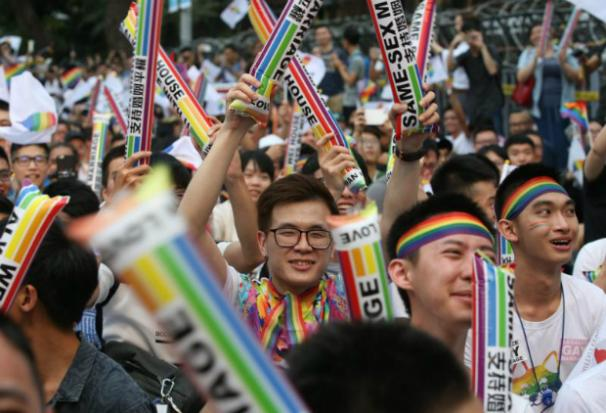 Tawain's Top Court Rules in Favor of Same-Sex Marriage