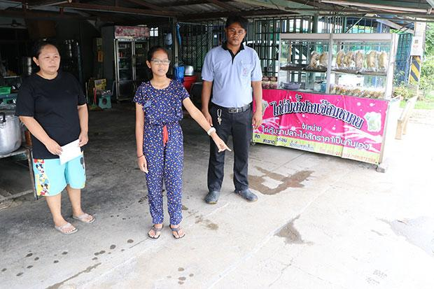 12 year-Old Thai Girls Instincts Save her from Abduction