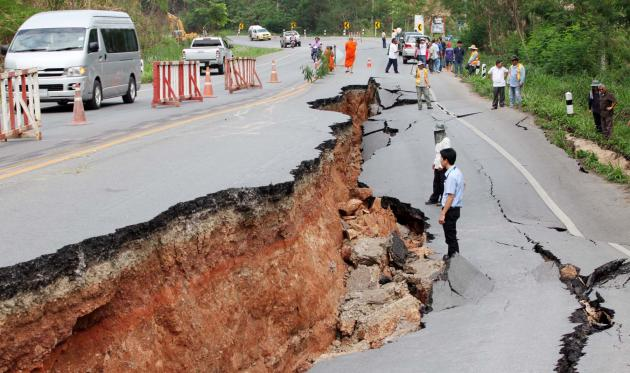 Department of Mineral Resources Studies Chiang Rai Fault Lines to Prepare for Future Earthquakes