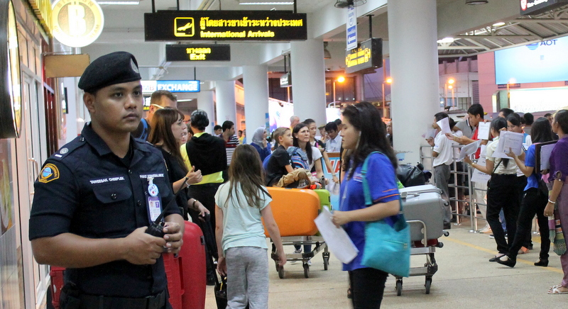 Security Stepped up in Tourist Areas of Southern Thailand Following Warnings of Possible Attacks